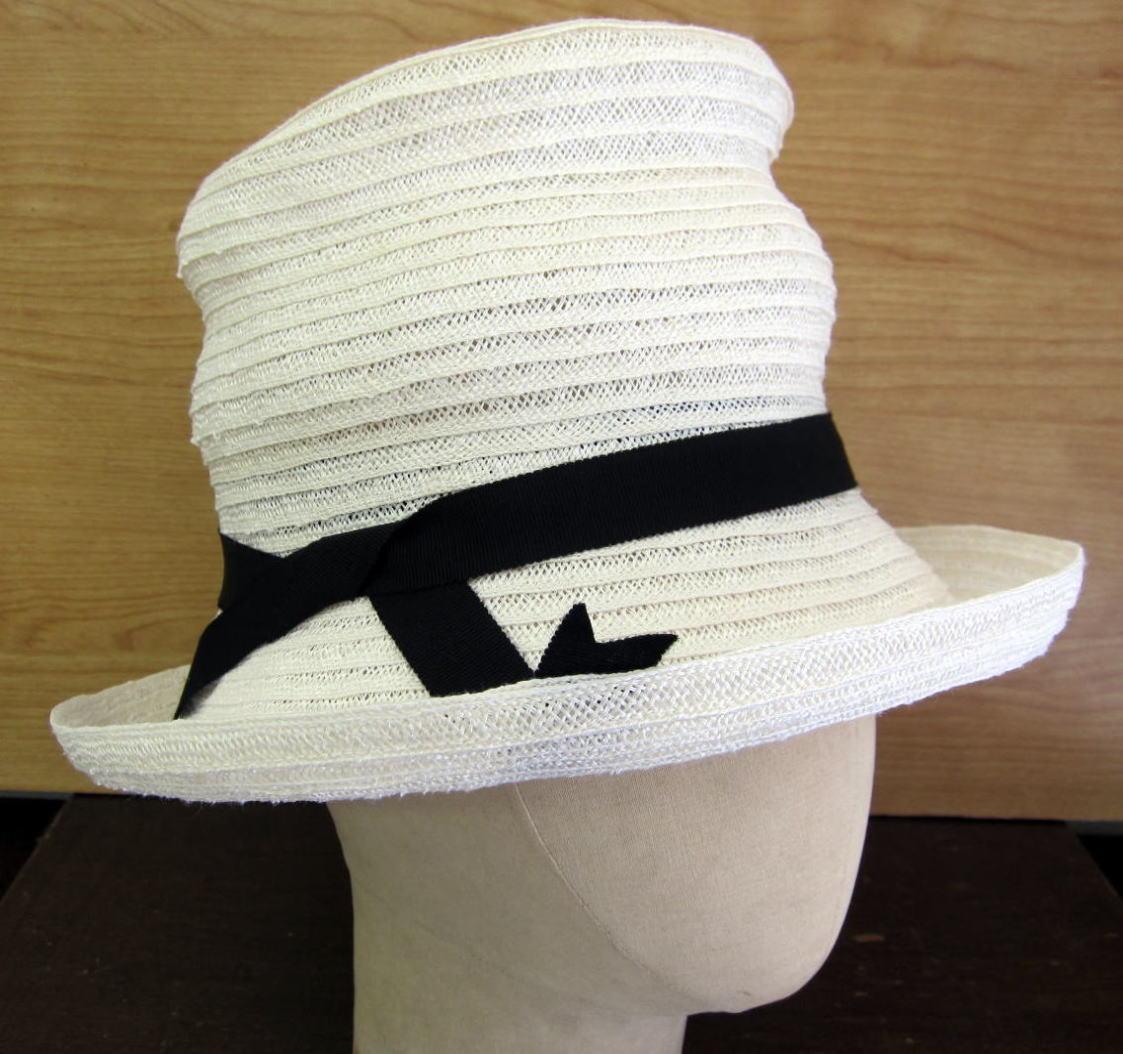 自由型 ブレード帽子 サイド
