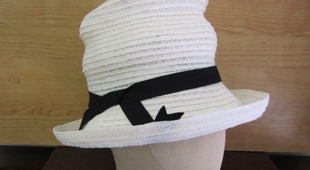 自由形 ブレード帽子 サイド