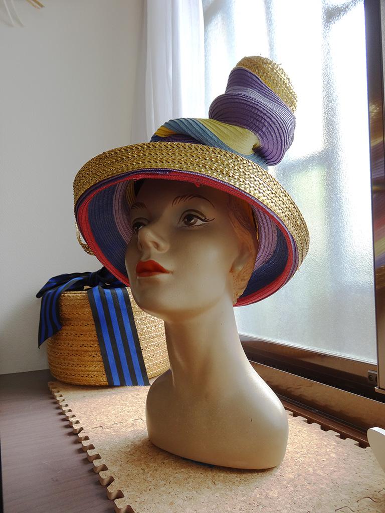 Multi-Stripe Braid Hat