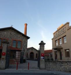 Lyon Atelier Musee' Entrance リヨン帽子博物館の入り口 門