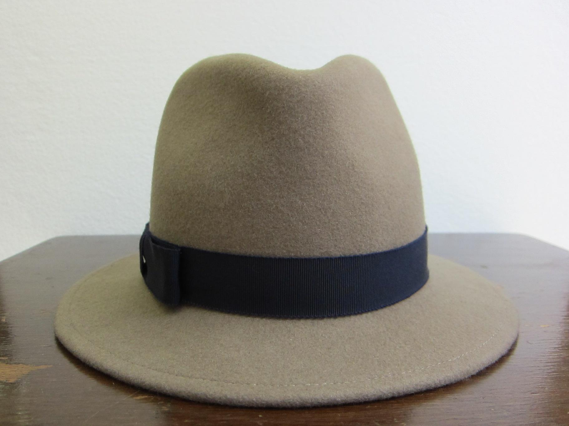 帽子 中折れ型
