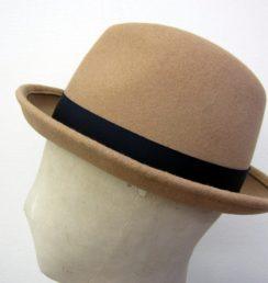 ソフト帽 サイド面