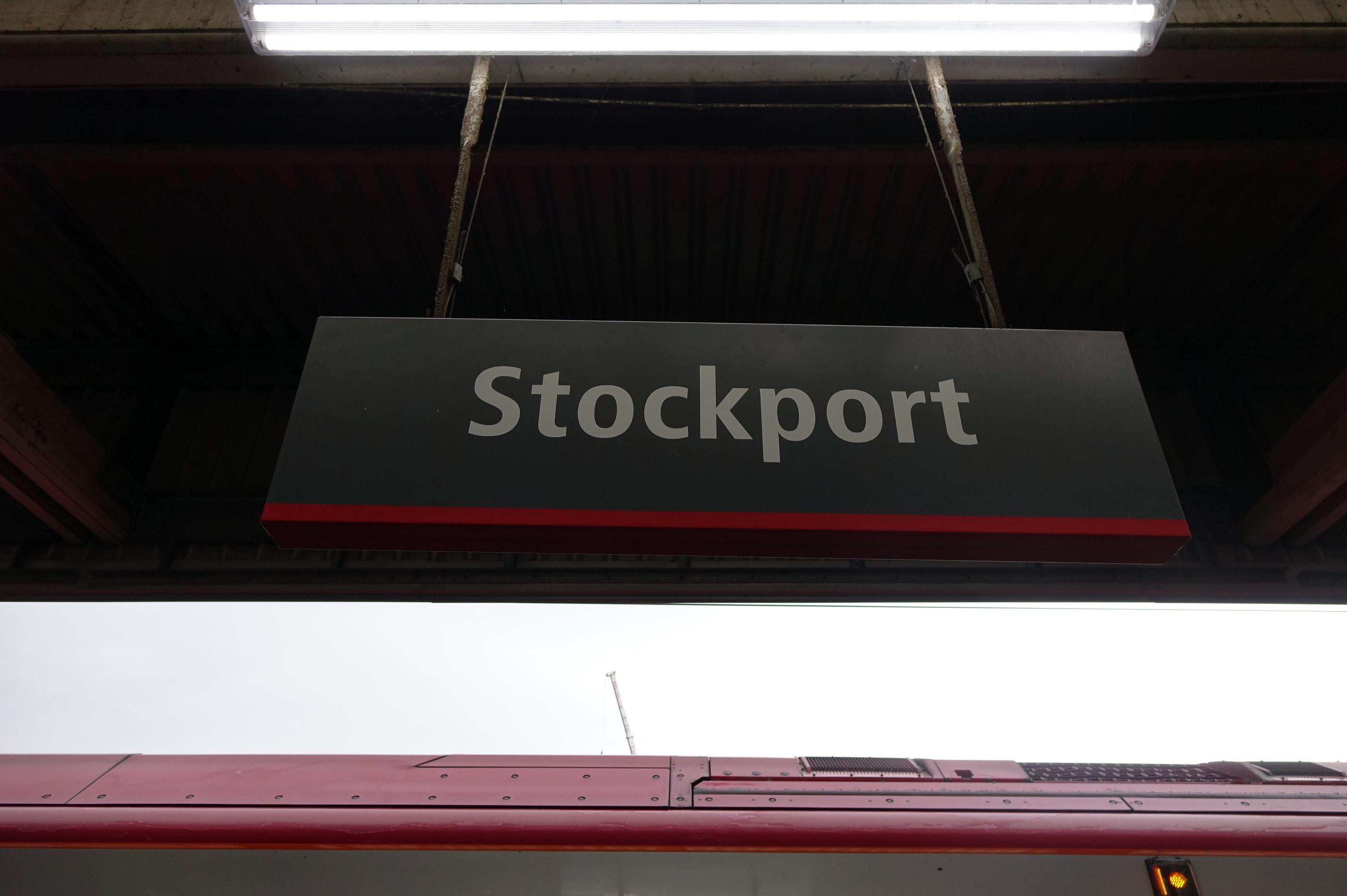Stockport  駅sigh