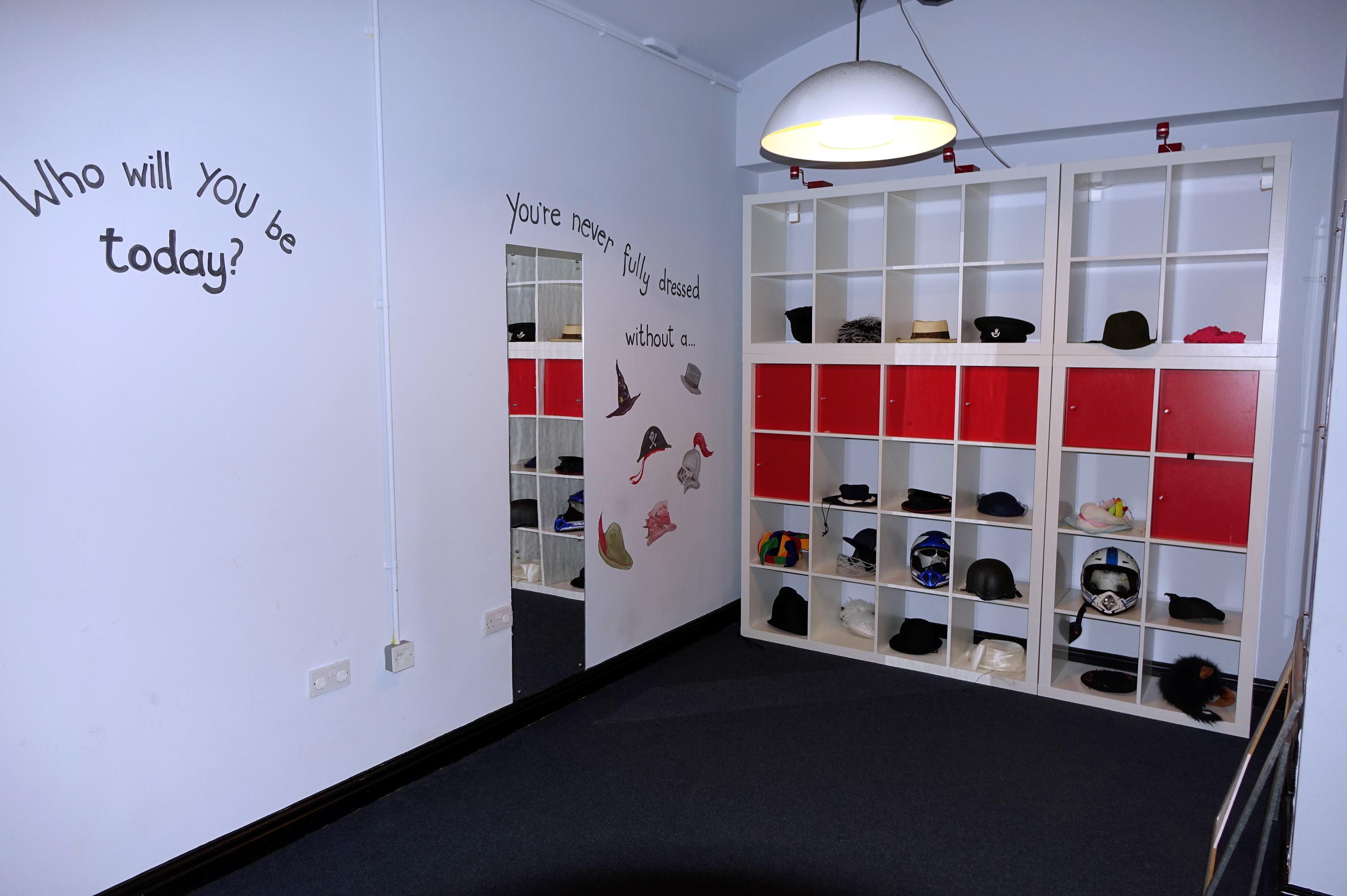 The Hat corner展示