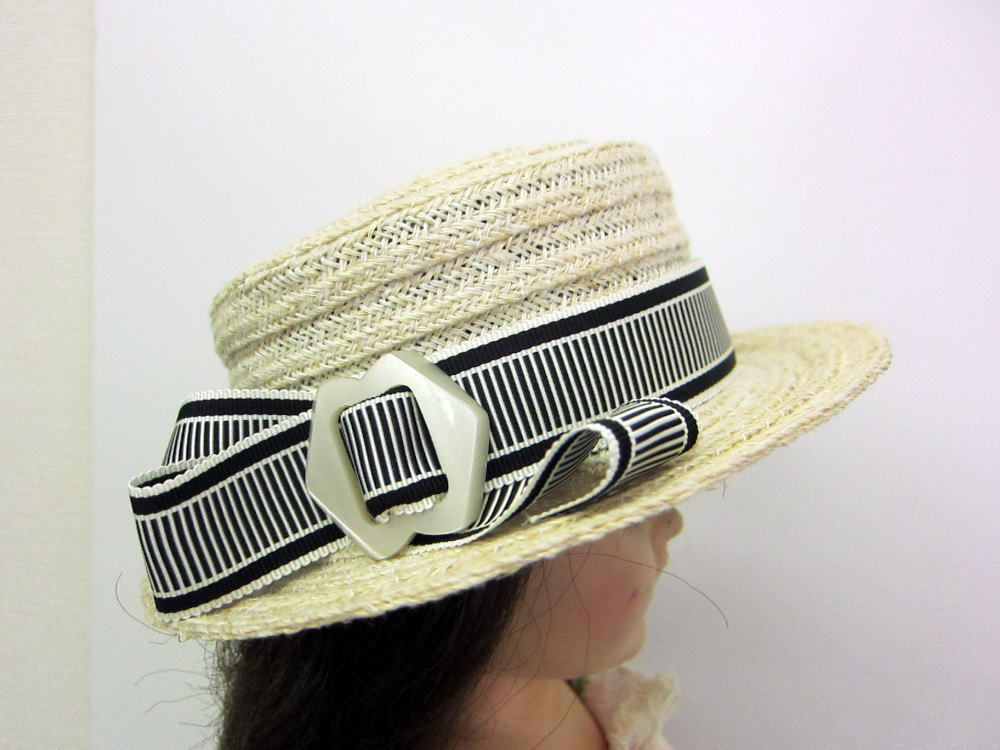 ブレード帽子 サイド