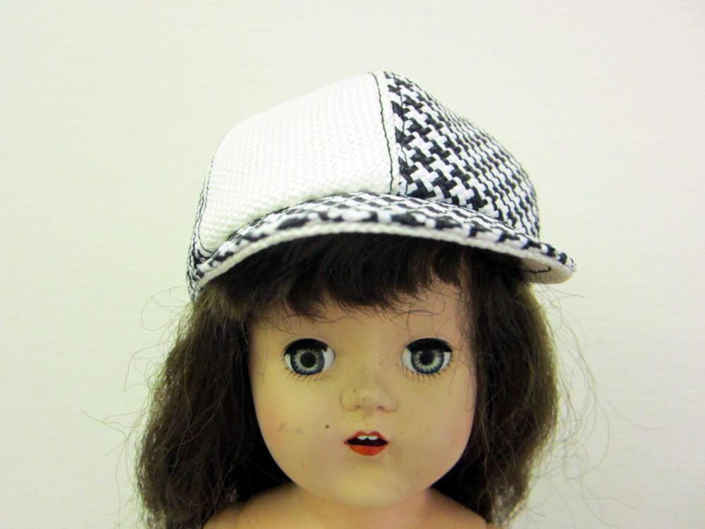 キャスケット帽子 フロント