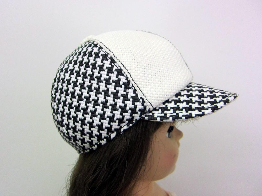 キャスケット帽子 サイド