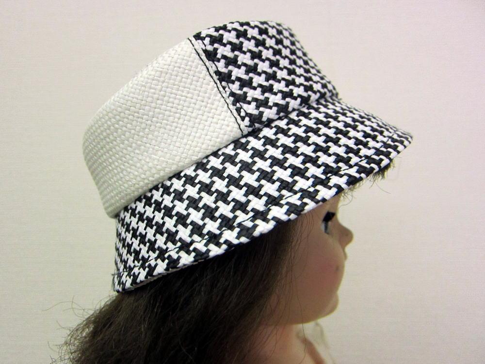 クロッシェ帽子 サイド