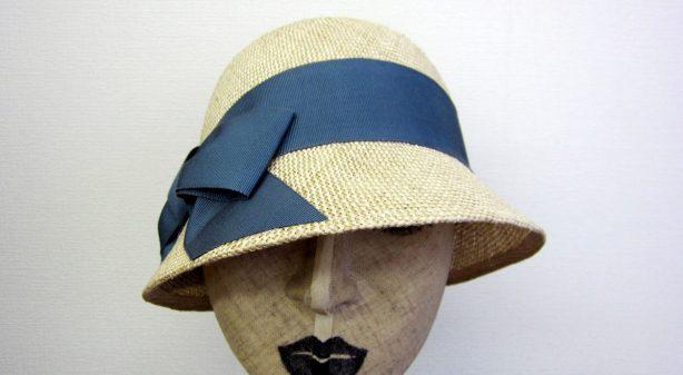 クロッシェ帽 フロント
