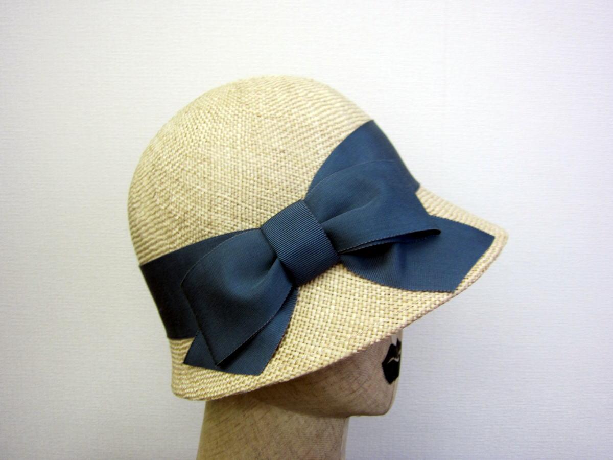 クロッシェ帽 サイド