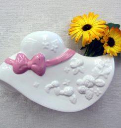 帽子型ミニュチュア花瓶
