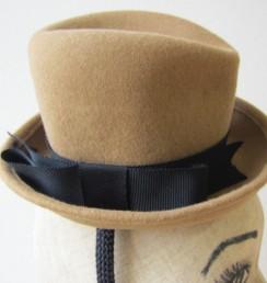 ミニュチュア中折れハット(帽子)