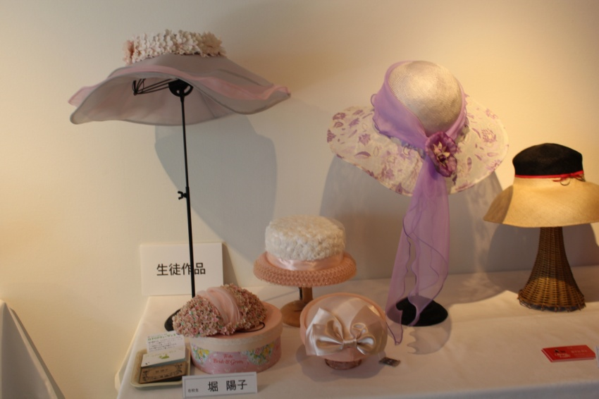 ファンシーハットシリーズ、アンティックパーツのカクテルハットの下の帽子の箱もオリジナル