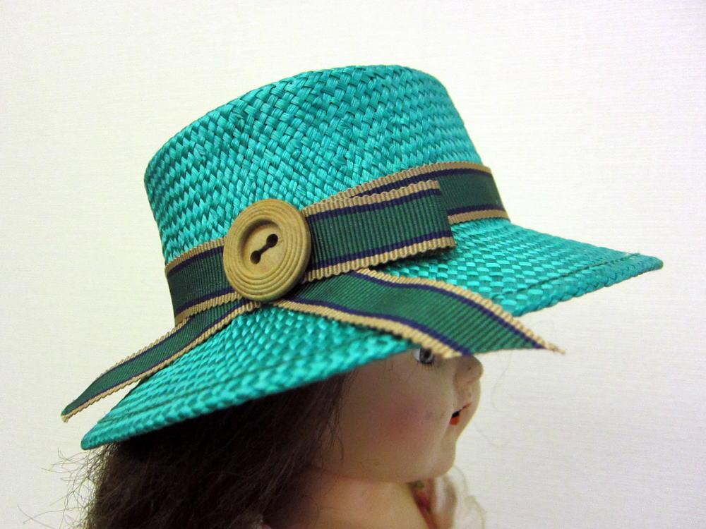 夏帽子 サイド