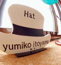 帽子教室yumiko itoyama ミニ 看板